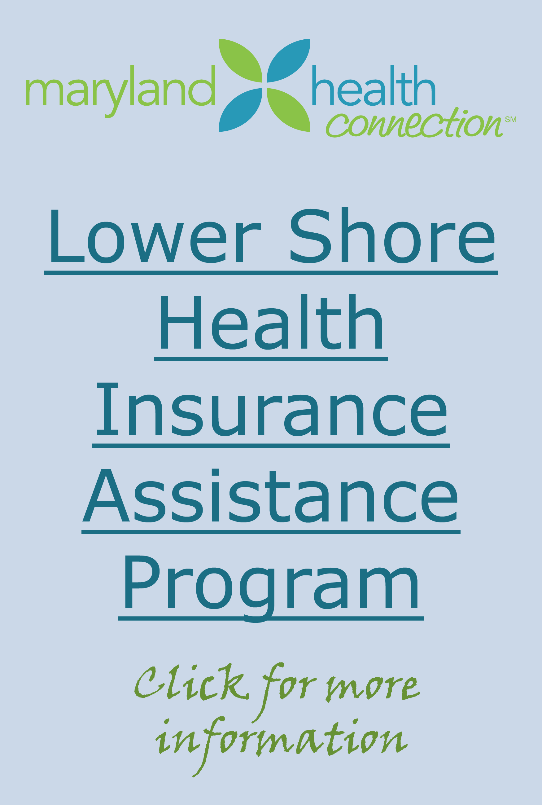 Lower Shore Health Insurance Assistance Program